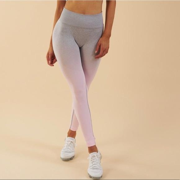 32e96cdf39508 Gymshark Other | Ombre Seamless Leggings | Poshmark